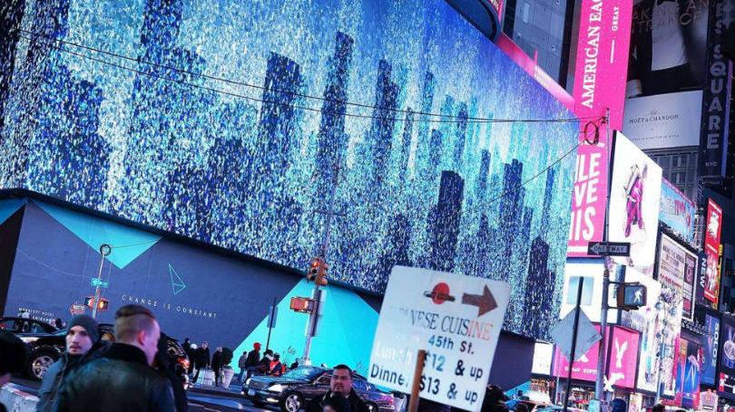 Maior outdoor de LED do mundo é estreiado pelo Google, na Times Square – NY