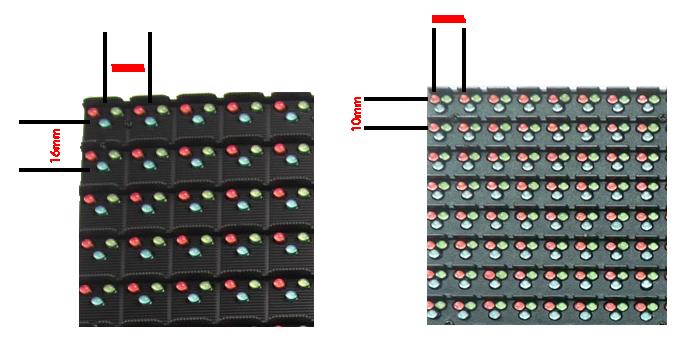 diferença P16 x p10