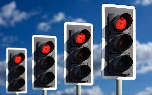 semáforo retenção painel de led